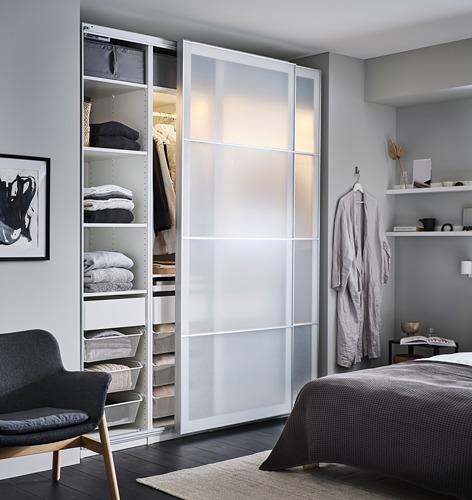 PAX - 3個衣櫃框, 白色   IKEA 香港及澳門 - PH171124_S4