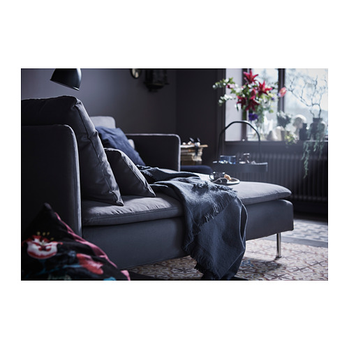 SÖDERHAMN - chaise longue, Samsta dark grey | IKEA Hong Kong and Macau - PH150642_S4