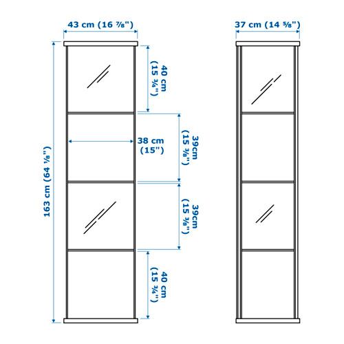 DETOLF - glass-door cabinet, white | IKEA Hong Kong and Macau - PE656977_S4