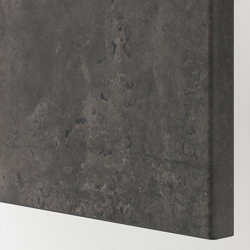 KALLVIKEN - door/drawer front, dark grey concrete effect | IKEA Hong Kong and Macau - PE744953_S4