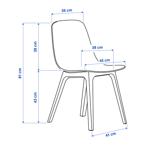 ODGER - 椅子, 炭黑色 | IKEA 香港及澳門 - PE798956_S4