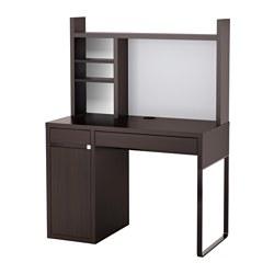 MICKE - 書檯, 105x50x140 cm, 棕黑色 | IKEA 香港及澳門 - PE598250_S3