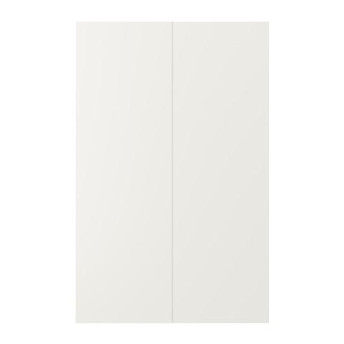 VEDDINGE - 角位地櫃門,2件裝, 白色 | IKEA 香港及澳門 - PE704997_S4