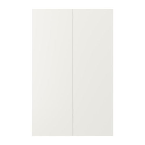 VEDDINGE - 2-p door f corner base cabinet set, white | IKEA Hong Kong and Macau - PE704997_S4