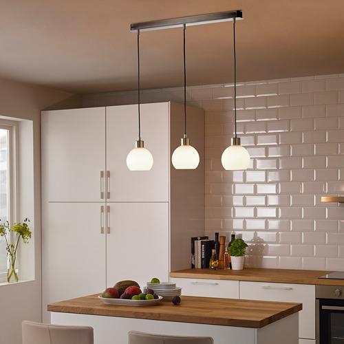 SKAFTET - 三頭電線套裝連天花板吸頂裝置, 鍍鎳 長方形 | IKEA 香港及澳門 - PE799065_S4