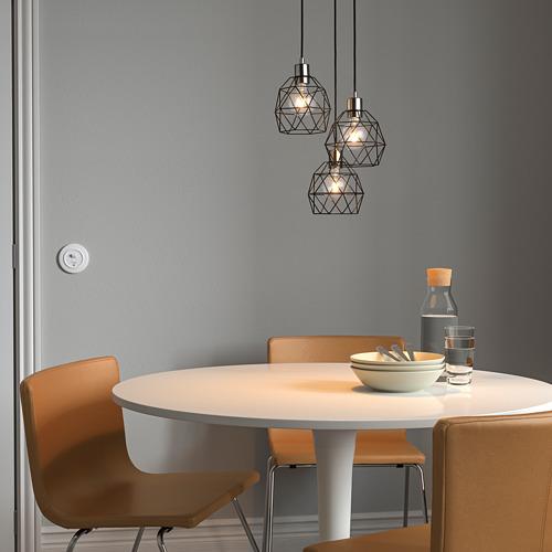 SKAFTET - 三頭電線套裝連天花板吸頂裝置, 圓形 鍍鎳 | IKEA 香港及澳門 - PE799066_S4