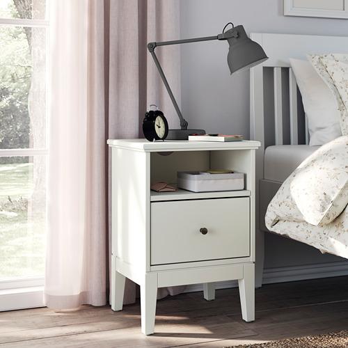 BAXNA - 收納用品, 20x17x6 cm, 灰色/白色   IKEA 香港及澳門 - PE799145_S4