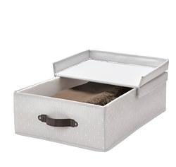 BLÄDDRARE - 連蓋箱, 35x50x15 cm, 灰色/圖案   IKEA 香港及澳門 - PE799191_S3