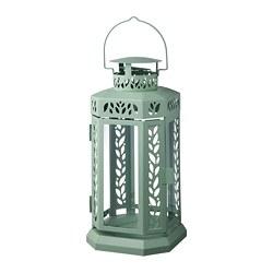 ENRUM - 柱形蠟燭燈座,室內/戶外用, 綠色 | IKEA 香港及澳門 - PE799206_S3