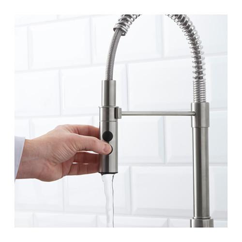 VIMMERN - 廚房用水龍頭/花灑, 不銹鋼色 | IKEA 香港及澳門 - PE598415_S4