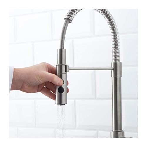 VIMMERN - 廚房用水龍頭/花灑, 不銹鋼色 | IKEA 香港及澳門 - PE598418_S4