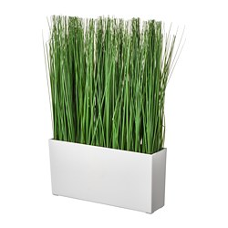 FEJKA - artificial potted plant with pot, in/outdoor grass | IKEA Hong Kong and Macau - PE745265_S3