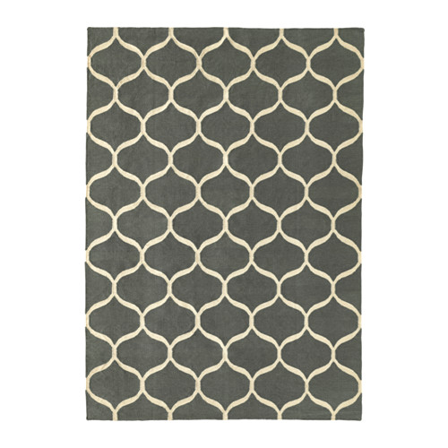 STOCKHOLM 2017 - rug, flatwoven, handmade/net pattern grey | IKEA Hong Kong and Macau - PE598560_S4
