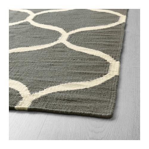 STOCKHOLM 2017 - rug, flatwoven, handmade/net pattern grey | IKEA Hong Kong and Macau - PE598561_S4