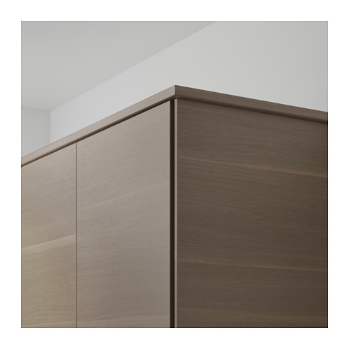 VOXTORP - rounded deco strip/moulding, walnut effect | IKEA Hong Kong and Macau - PE598602_S4