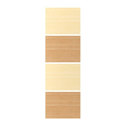 FJELLHAMAR 4 panels for sliding door frame