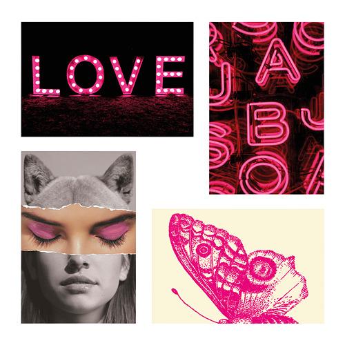 YLLEVAD - 藝術卡, 粉紅情迷   IKEA 香港及澳門 - PE799489_S4
