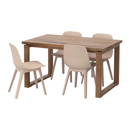 ODGER/MÖRBYLÅNGA 一檯四椅