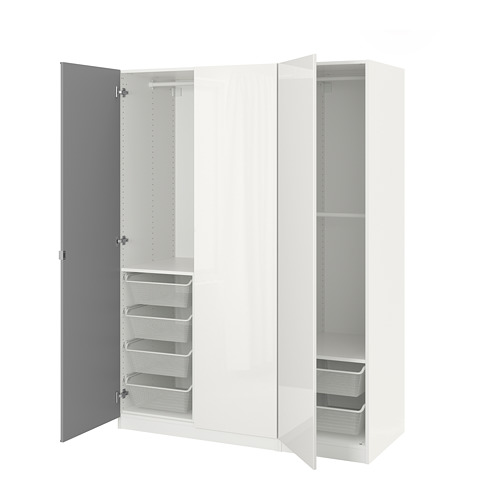 PAX - 衣櫃, 白色/Fardal Vikedal | IKEA 香港及澳門 - PE705237_S4
