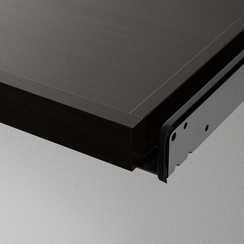 KOMPLEMENT - pull-out tray with shoe insert, black-brown/light grey   IKEA Hong Kong and Macau - PE799522_S4