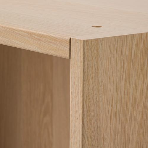 PAX - 3個衣櫃框, 染白橡木紋 | IKEA 香港及澳門 - PE799530_S4