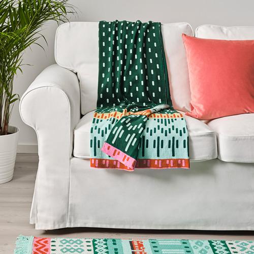KÄPPHÄST - blanket, knitted/multicolour | IKEA Hong Kong and Macau - PE745632_S4