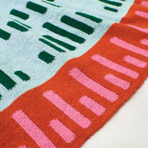 KÄPPHÄST - blanket, knitted/multicolour | IKEA Hong Kong and Macau - PE745634_S4