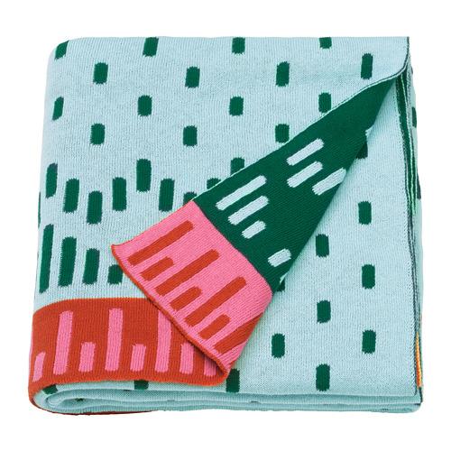 KÄPPHÄST - blanket, knitted/multicolour | IKEA Hong Kong and Macau - PE745633_S4