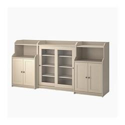 HAUGA - storage combination, beige | IKEA Hong Kong and Macau - PE799583_S3