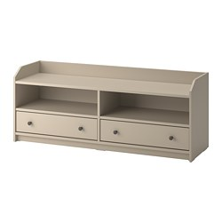 HAUGA - TV bench, beige | IKEA Hong Kong and Macau - PE799595_S3