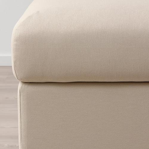 VIMLE - footstool with storage, Hallarp beige | IKEA Hong Kong and Macau - PE799680_S4