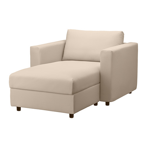 VIMLE - 躺椅, Hallarp 米黃色 | IKEA 香港及澳門 - PE799705_S4