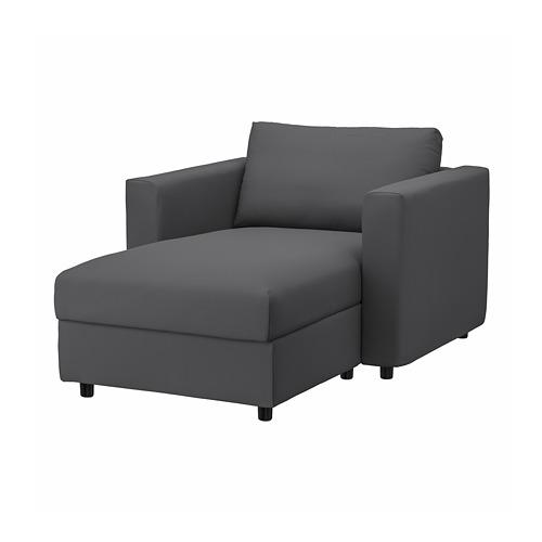 VIMLE - chaise longue, Hallarp grey   IKEA Hong Kong and Macau - PE799708_S4
