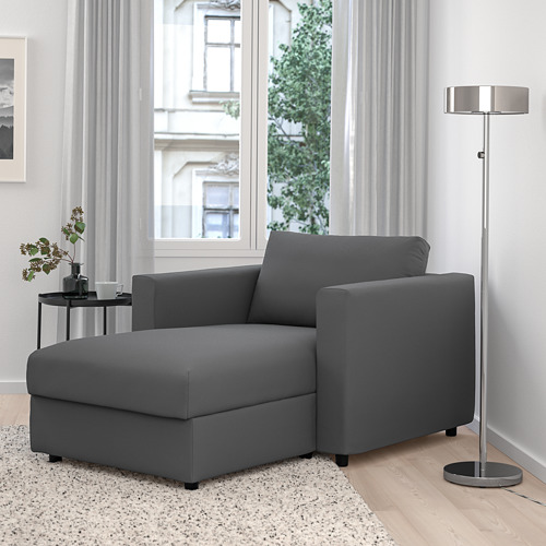 VIMLE - chaise longue, Hallarp grey   IKEA Hong Kong and Macau - PE799717_S4