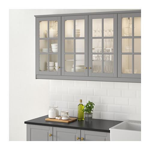 BODBYN - glass door, grey | IKEA Hong Kong and Macau - PE657843_S4