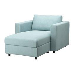 VIMLE - chaise longue, Saxemara light blue   IKEA Hong Kong and Macau - PE799713_S3