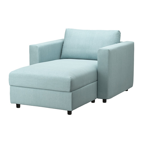VIMLE - chaise longue, Saxemara light blue | IKEA Hong Kong and Macau - PE799713_S4