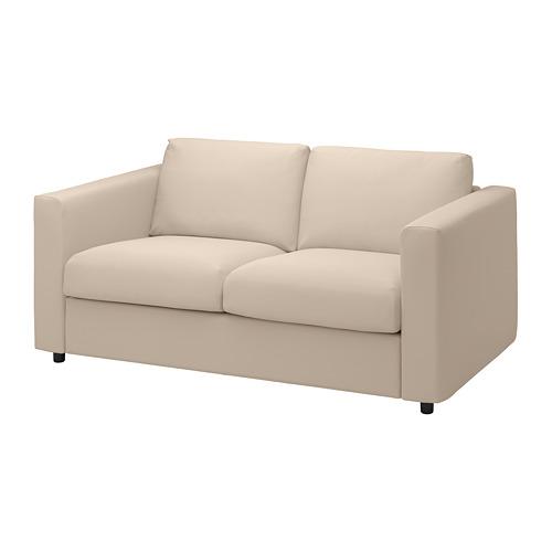 VIMLE - cover for 2-seat sofa, Hallarp beige | IKEA Hong Kong and Macau - PE799724_S4