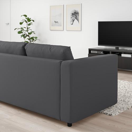 VIMLE - 3-seat sofa, Hallarp grey | IKEA Hong Kong and Macau - PE799727_S4