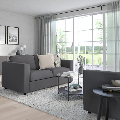 VIMLE - 2-seat sofa, Hallarp grey | IKEA Hong Kong and Macau - PE799742_S4
