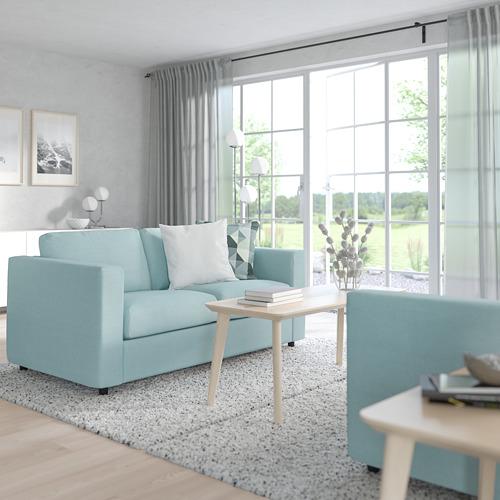VIMLE - 2-seat sofa, Saxemara light blue | IKEA Hong Kong and Macau - PE799731_S4