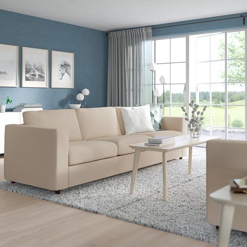 VIMLE - 3-seat sofa, Hallarp beige   IKEA Hong Kong and Macau - PE799734_S4