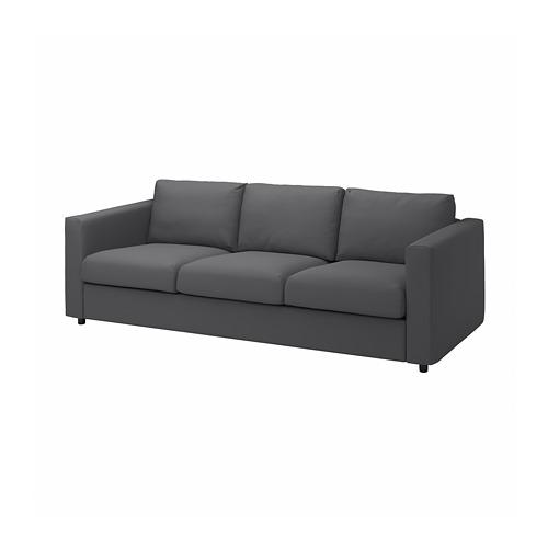 VIMLE - 3-seat sofa, Hallarp grey | IKEA Hong Kong and Macau - PE799735_S4