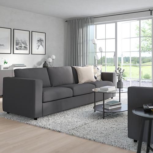 VIMLE - 3-seat sofa, Hallarp grey | IKEA Hong Kong and Macau - PE799737_S4