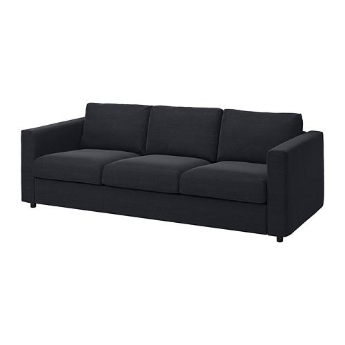 VIMLE - 三座位梳化, Saxemara 藍黑色 | IKEA 香港及澳門 - PE799738_S4