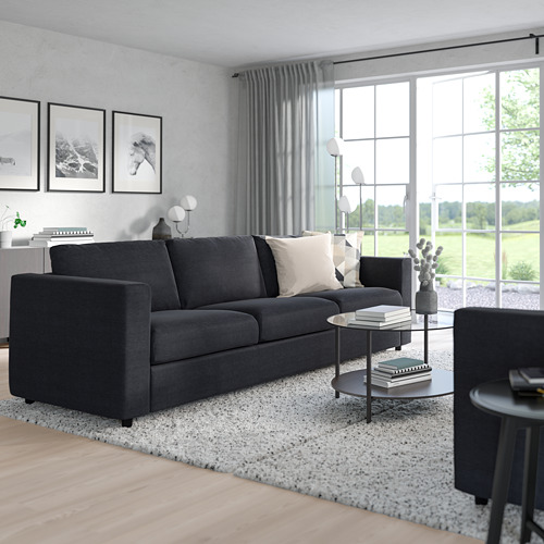 VIMLE - 三座位梳化, Saxemara 藍黑色 | IKEA 香港及澳門 - PE799740_S4