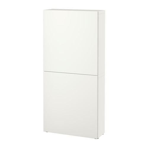 BESTÅ - 雙門吊櫃, 白色/Lappviken 白色   IKEA 香港及澳門 - PE535241_S4