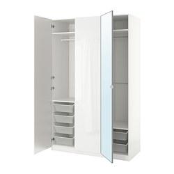 PAX - wardrobe, white/Fardal Vikedal | IKEA Hong Kong and Macau - PE705608_S3