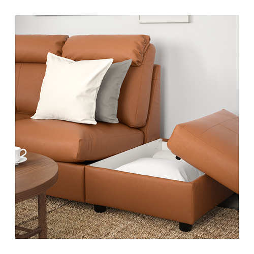 LIDHULT - corner sofa, 5-seat, with open end/Grann/Bomstad golden-brown | IKEA Hong Kong and Macau - PE707735_S4