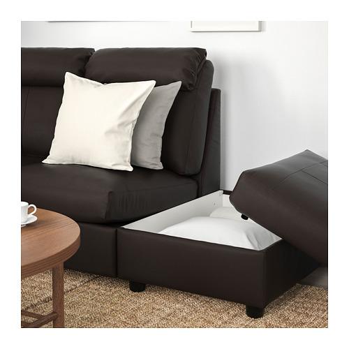 LIDHULT - corner sofa, 5-seat, with open end/Grann/Bomstad dark brown   IKEA Hong Kong and Macau - PE707732_S4